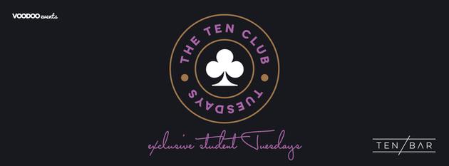 The Ten Club Halloween – Free Entry Tuesdays