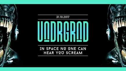 Underground Halloween – In Space No One Can Hear You Scream