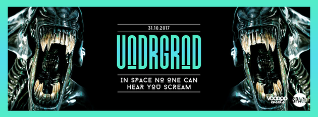 Underground Halloween – In Space No One Can Hear You Scream