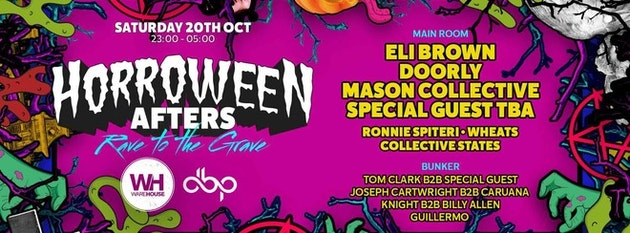 Horroween Southampton • Official Afterparty / THIS Saturday – LINEUP ANNOUNCED