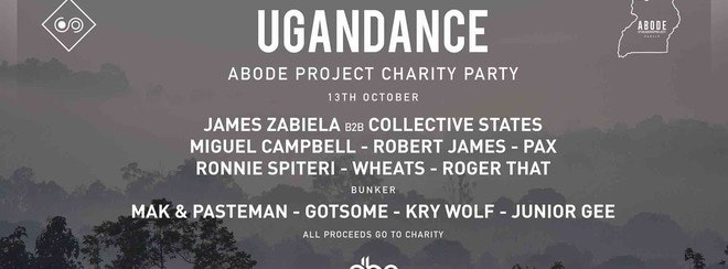 ABODE Project • Ugandance / Saturday 13th October