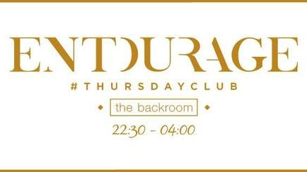 Entourage Leeds @ Backroom