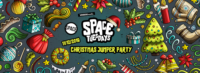 Space Tuesdays : Leeds – Christmas Jumper Party!