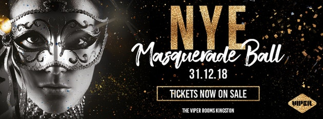 NYE 2018 Masquerade Ball