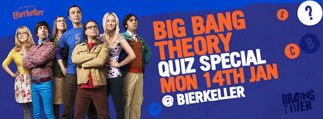 Brains vs Bier – Big Bang Theory