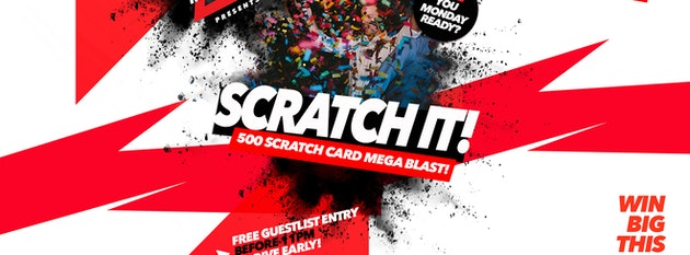 Scratch It! 14.01.19 Halo Bournemouth