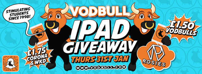 Vodbull iPAD PARTY!! [SOLD OUT!!]