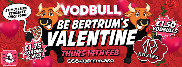 💖Vodbull Valentine Party!!💖 [SOLD OUT!!]