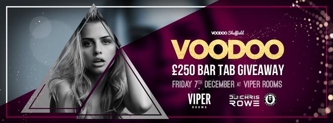 Voodoo Fridays Sheffield