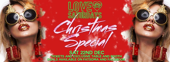 Love Christmas Special Saturday – Pre 12am entry ticket