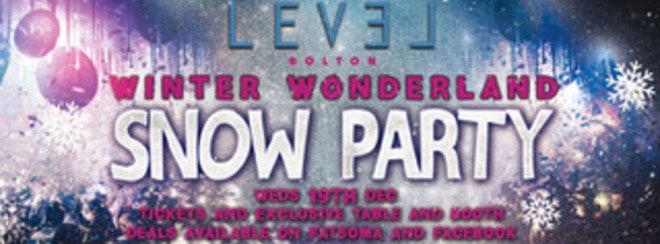Wednesday Winter Wonderland – SNOW PARTY
