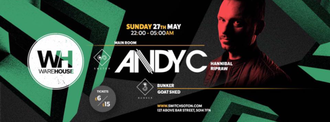 ANDY C • TONIGHT // Final 200 tickets