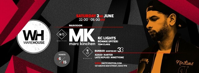 MK • This Saturday / Final 50 tickets