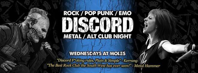 Discord – Rock, Pop Punk, Emo & Metal Anthems!