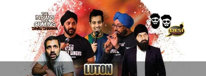 The Indians Are Coming – Diwali Dhamaka : Luton