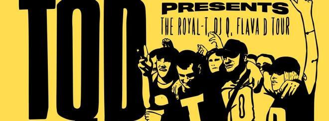 TQD (Royal-T, DJ Q, Flava D) • Wednesday 3rd October