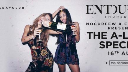 NoCurfew x Entourage presents The A Level Special