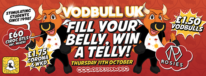 {SOLD OUT!!!!} Fill your belly, Win a telly!! 11th Oct!!