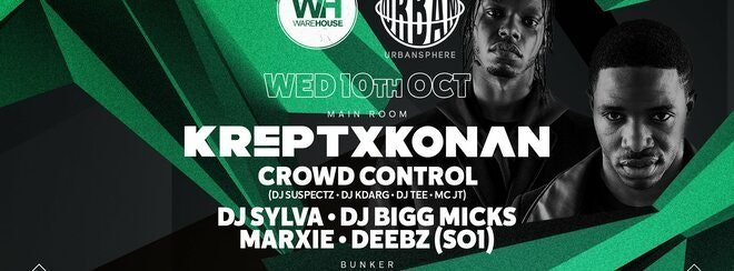 Krept & Konan • Wednesday 10th October