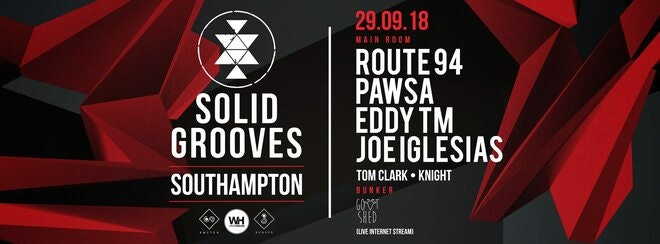 Solid Grooves • Route 94, Pawsa + More / This Saturday