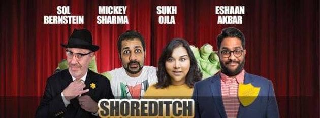 Desi Central Comedy Tour : Shoreditch