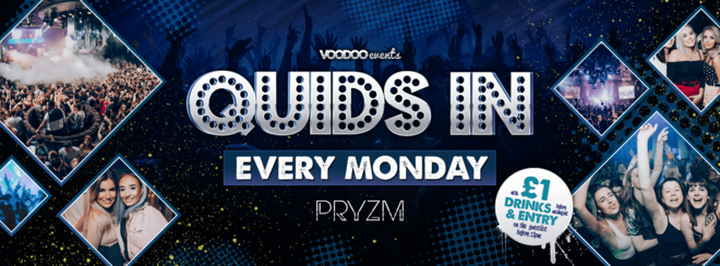 Basshunter @ Quids In Mondays at PRYZM!