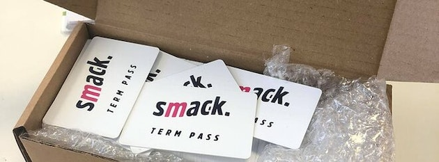 Smack. TERM PASS