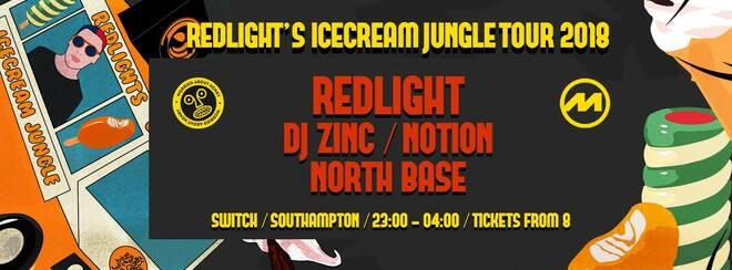 Redlight's Ice Cream Jungle Southampton • This Saturday / Final £10 tickets