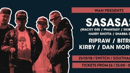 SASASAS • This Thursday / Final £8 tickets