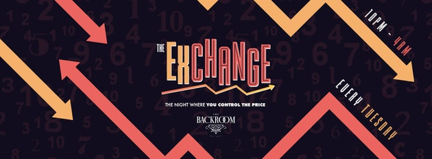 NoCurfew x The Backroom presents The Drink Exchange :: Every Tuesday