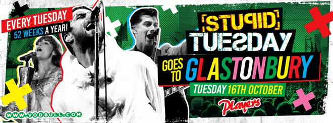 Stuesday – SOLD OUT! 100 on the door from 11pm!