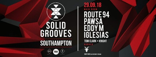 Solid Grooves • Route 94, Pawsa, Eddy M + More / TONIGHT – Final 200 tickets