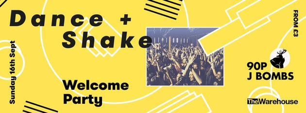 Dance & Shake Welcome Party – Sunday Special