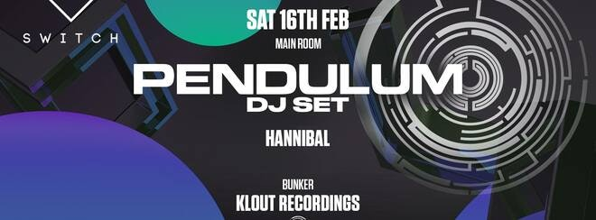 Pendulum • TONIGHT / Final 50 tickets