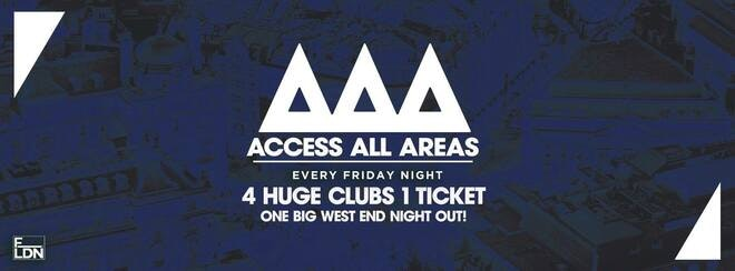 Access All Areas – The Ultimate Student Club Crawl   Back This Friday!