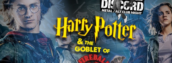 Discord presents: Harry Potter & The Goblet of Fireball!