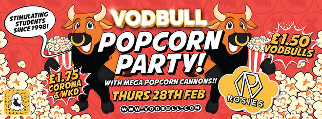 🍿Vodbull POPCORN PARTY!🍿{FINAL TICKETS!!}