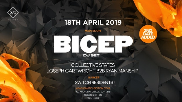 BICEP + ANDHIM • Easter Thursday, 18th April – Final 200 tickes