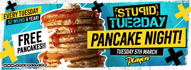 Stuesday 🥞 Pancake Party 🥞