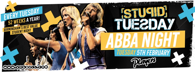 Stuesday 🎶 Abba Night 🎶 Tickets on the door from 10:30pm!