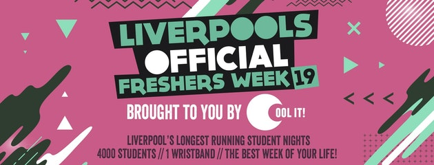 Liverpool's Official Freshers Week 2019