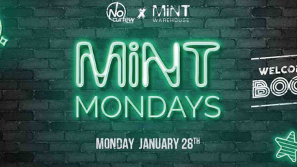 Mint Mondays at Mint Warehouse :: Welcome Back Boogie :: Final 100 tickets!