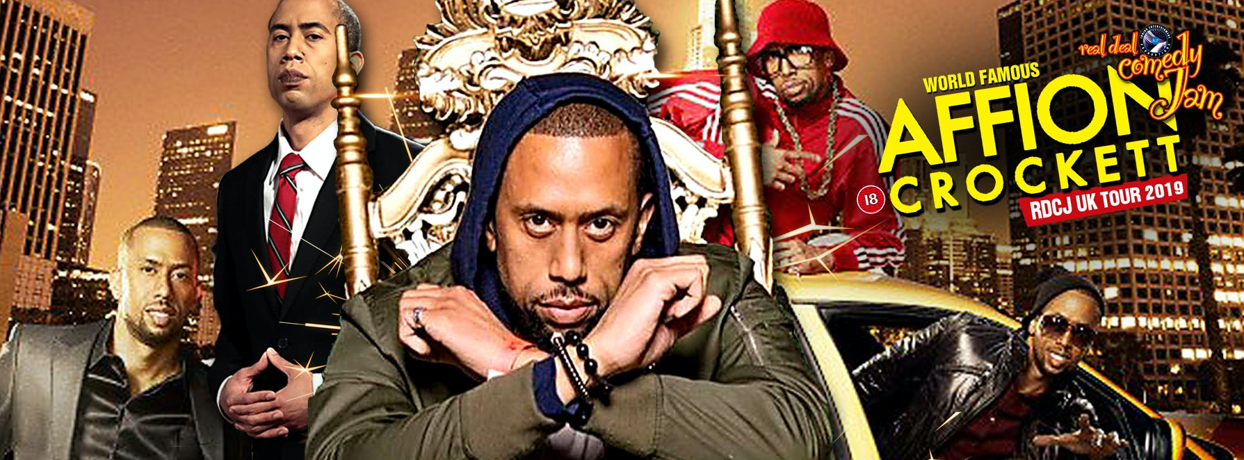 Leeds – Real Deal Comedy Jam Easter starring Affion Crockett