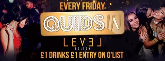 Quids In Entry Ticket – Pre 12.30 am only