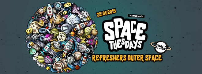 Space Tuesdays : Leeds – Refreshers Outer Space