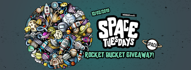 Space Tuesdays : Leeds – Rocket Bucket Giveaway!