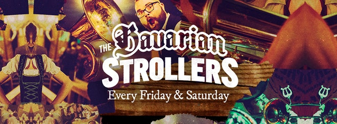 THE BAVARIAN STROLLERS – SATURDAY PACKAGES