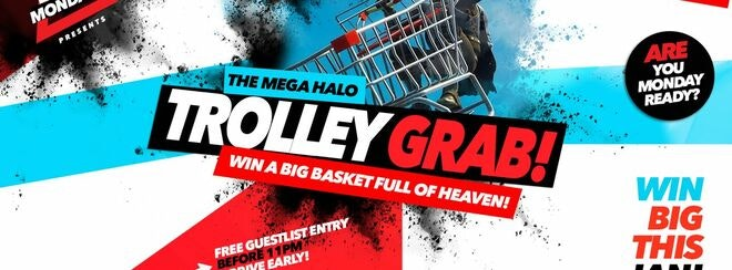 Halo Mondays : The Mega Trolley Grab!