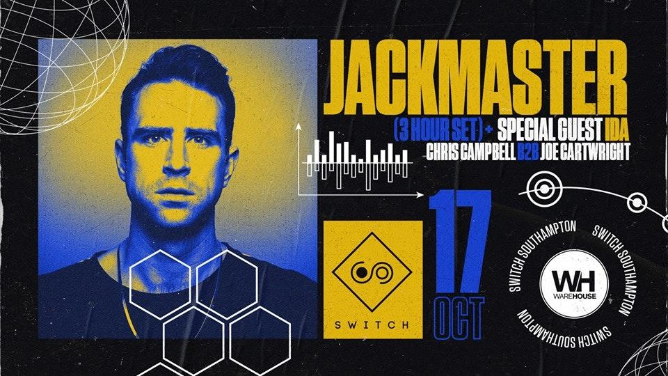 Warehouse Presents: Jackmaster
