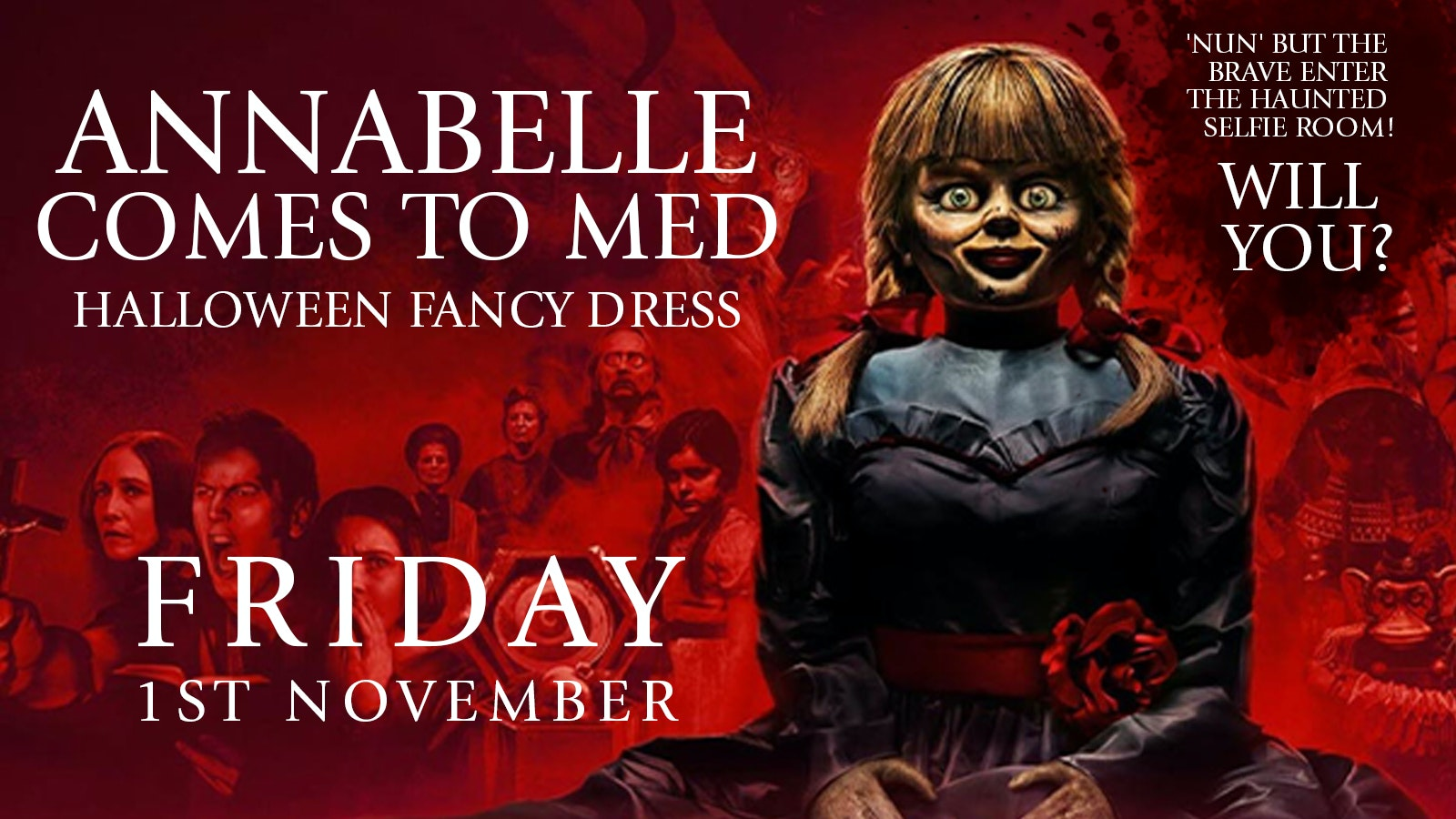 MEDICATION -ANNABELLE COMES TO MED